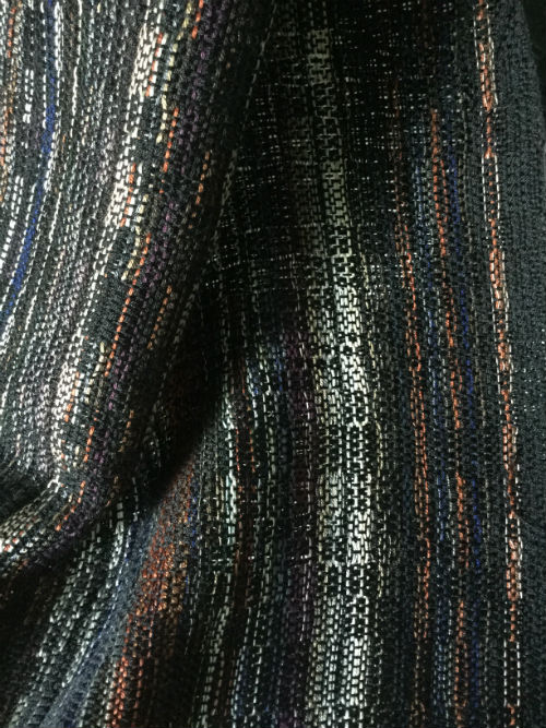 Iron Man Movie barcode scarf woven in silk