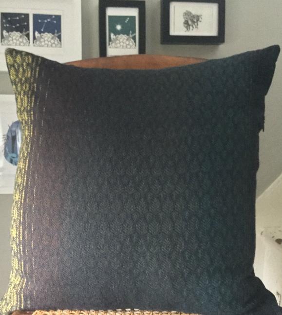 A commissioned set of cushions
